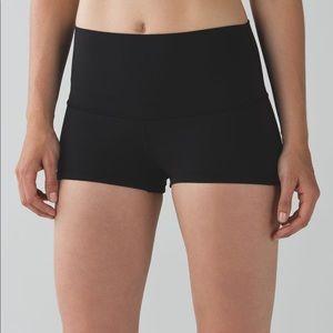 Lululemon high waisted boogie shorts